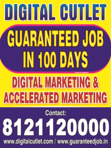 Digital-Marketing Guranteed Job Training in Hyderabad
